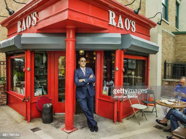 Rao's coowner Frank Pellegrino Jr is photographed for Vanity Fair Magazine on September 6 2016 at Rao's in New York City PUBLISHED IMAGE