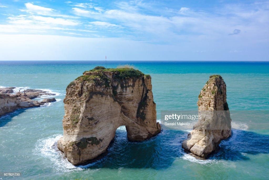 Raouche Rocks : Photo