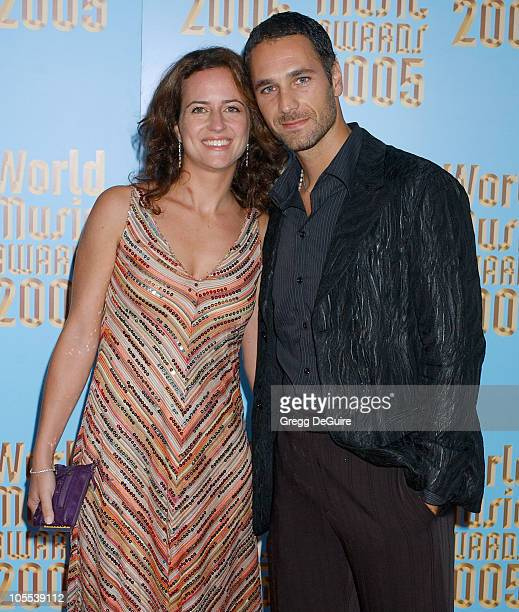 Raoul Bova during 2005 World Music Awards Arrivals at Kodak Theatre in Los Angeles CA United States