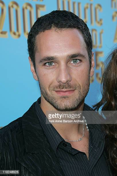 Raoul Bova during 2005 World Music Awards Red Carpet at Kodak Theatre in Los Angeles CA United States