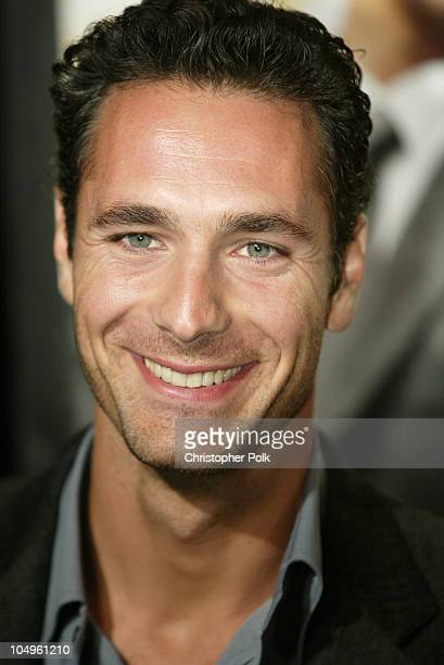 Raoul Bova During Intolerable Cruelty Los Angeles Premiere At The Academy Of Motion Picture