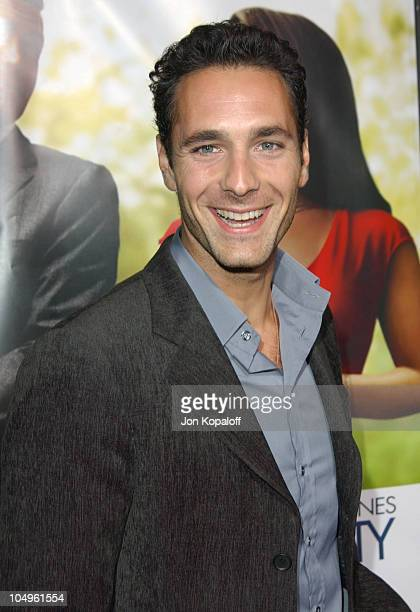 Raoul Bova during 'Intolerable Cruelty' Los Angeles Premiere at The Academy of Motion Picture Arts and Sciences in Beverly Hills California United...