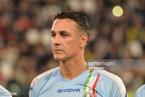Raoul Bova of Italian National Singers seen during the 'Partita Del Cuore' Charity Match at Allianz Stadium Campioni Per La Ricerca win the Champions...
