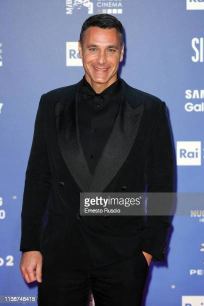 Raoul Bova walks a red carpet ahead of the 64 David Di Donatello awards ceremony Red Carpet on March 27 2019 in Rome Italy