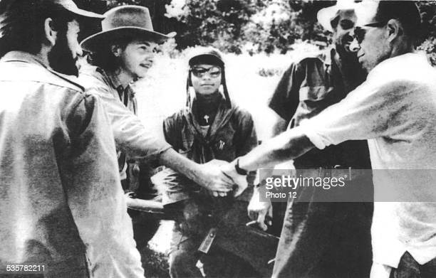 Raoul Castro during the revolution among guerillas 19561959 Cuba