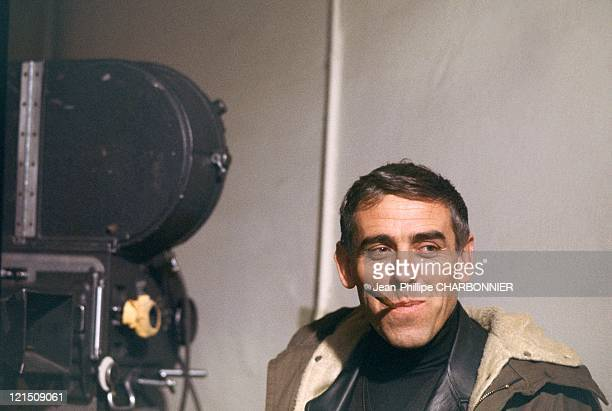 Raoul Coutard During The Shooting Of The Defector