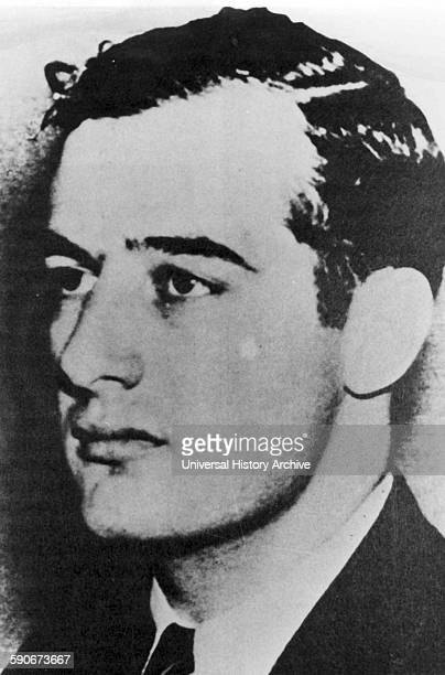 Raoul Gustaf Wallenberg Swedish architect businessman diplomat and humanitarian [Celebrated for saving tens of thousands] of Jews in Nazioccupied...