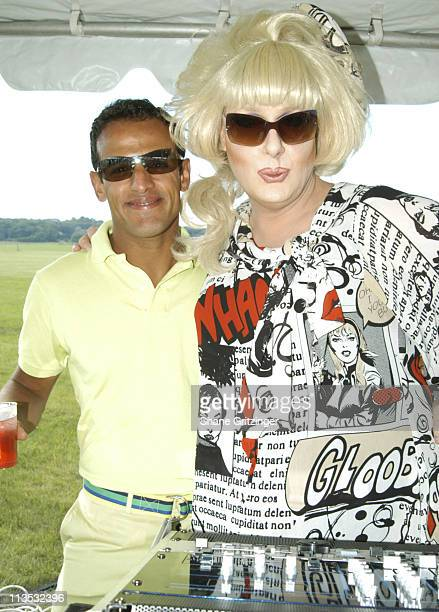 Raoul Martins and DJ Lady Bunny during Empire State Pride Agenda Foundation 13th Annual Hampton Tea Dance with Special Guest DJ Lady Bunny at...