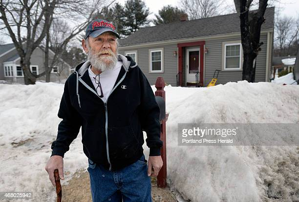 March 20: Raoul Paradis in front of his brother and sister-in-law's home in Kennebunk Friday, March 20, 2015. Paradis is living with his family while...