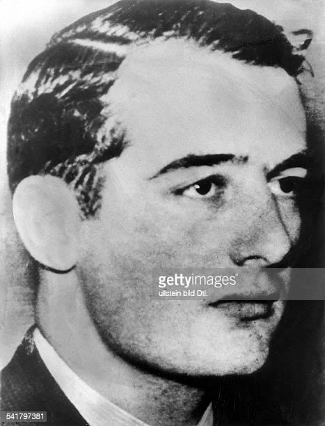 Raoul Wallenberg *verschollen 1945Diplomat SchwedenPortrait 1943