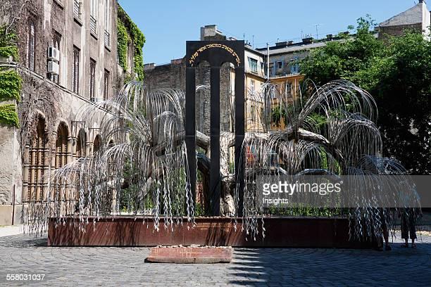 Raoul Wallenberg Holocaust Memorial Park Budapest Hungary