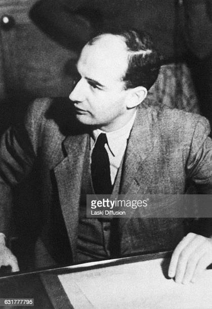 Raoul Wallenberg Swedish architect businessman and diplomat who saved thousands of Jews from the Holocaust in Germanoccupied Hungary Pictured Raoul...