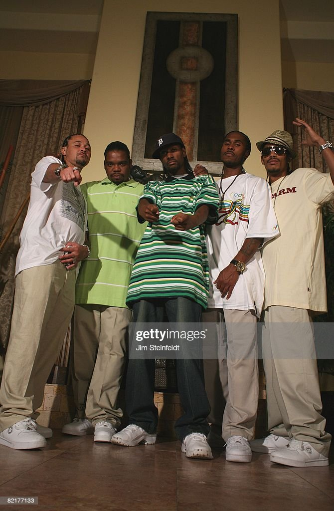 Rap Artist Bone Thugs N Harmony Portrait : News Photo