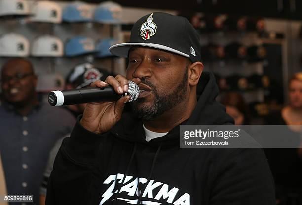 Rap artist Bun B performs at New Era Cap's Toronto flagship store on February 12 2016 in Toronto Canada