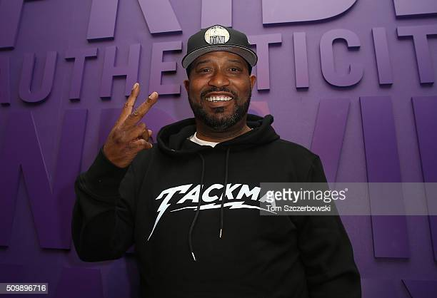 Rap artist Bun B poses after performing at New Era Cap's Toronto flagship on February 12 2016 in Toronto Canada