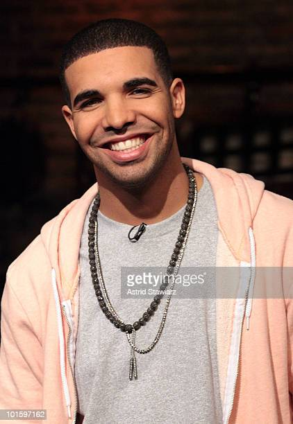 Rap artist Drake drops by taping of 'Fuse Top 20 Countdown' that will air on 6/4 at 5pm ET at fuse Studios on June 3 2010 in New York City