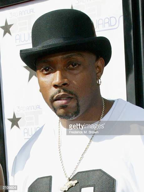 Rap artist Nate Dogg attends the 3rd Annual BET Awards at the Kodak Theatre on June 24 2003 in Hollywood California