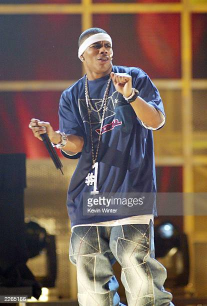 Rap Artist of the Year winner Nelly at the 2002 Fox Billboard Music Awards held at the MGM Grand Hotel in Las Vegas NV December 9 2002 Photo by Kevin...