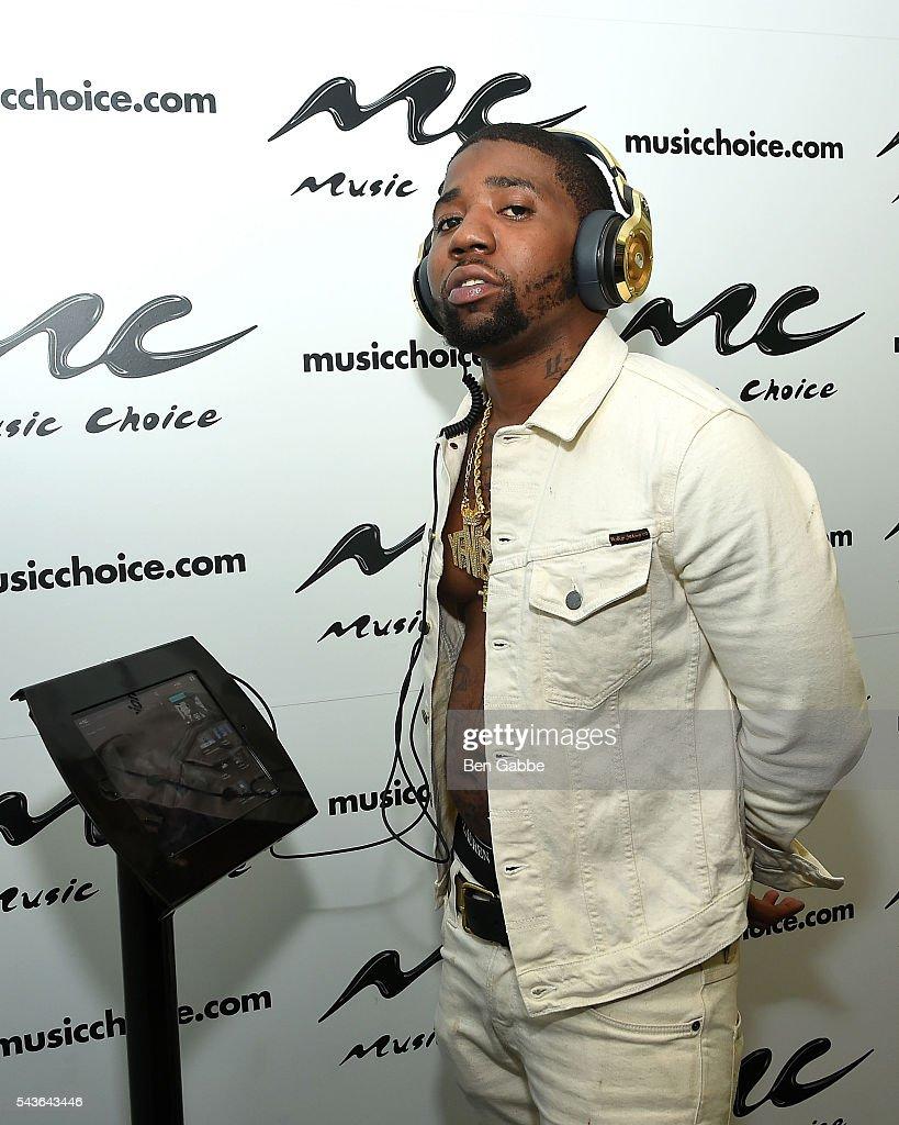 YFN Lucci Visits Music Choice
