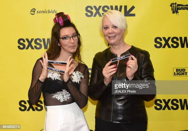 Rap Cabaret Artist Boyfriend and musician Cindy Wilson attend 'Conversation With Cindy Wilson and Boyfriend' during 2017 SXSW Conference and...