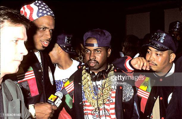 Rap Group 2 Live Crew at the 1990 MTV Video Music Awards at in Los Angeles California