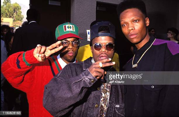 Rap Group Bel Biv Devoe at the 1990 MTV Video Music Awards at in Los Angeles California