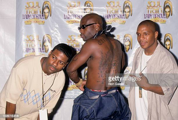 Rap Group Naughty By Nature attends Fifth Annual Soul Train Lady of Soul Awards on September 3 1999 at the Santa Monica Civic Auditorium in Santa...