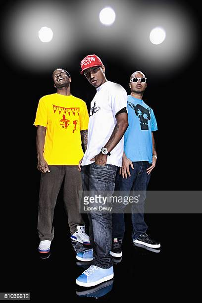 Rap group NERD is photographed for YRB Magazine Cover image