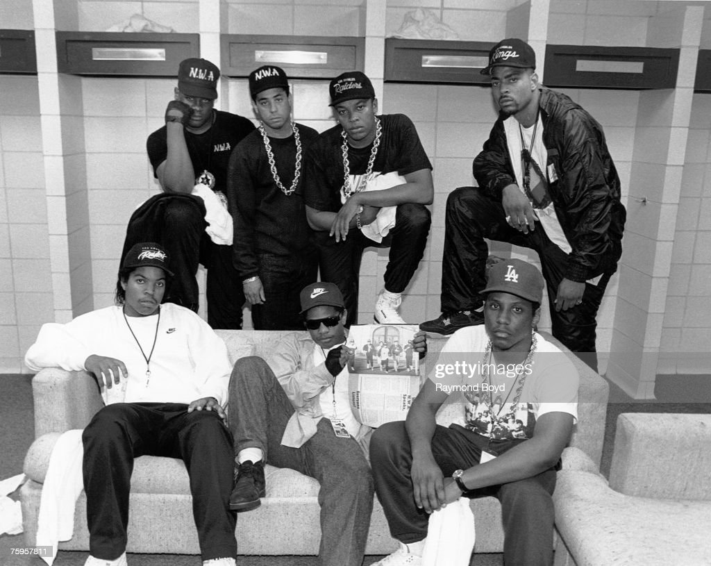 N.W.A. Backstage In KC : News Photo