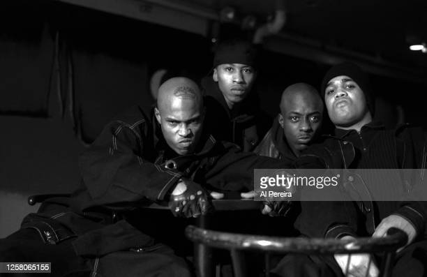 Rap Group Onyx--Sticky Fingaz , Fredro Starr , Sonny Seeza and Big DS appears in a portrait taken on October 10, 1992 in New York City.