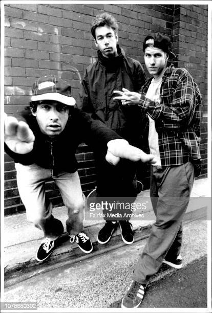 Rap Group The Beastie Boys Pix at Kings September 23 1992