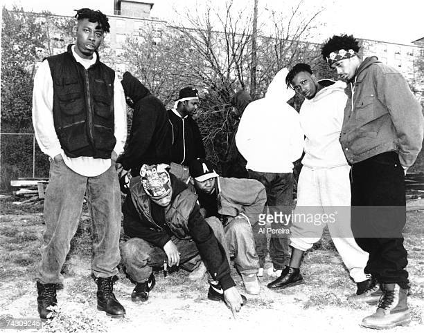 Rap group WuTang Clan poses for a portrait on May 8 1993 in New York City New York