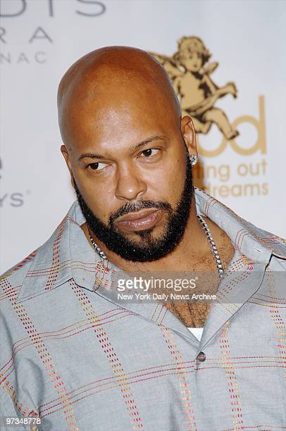 Rap mogul Marion Knight founder of Death Row Records arrives at the Shore Club for a party prior to Sunday's MTV Video Music Awards Later that night...