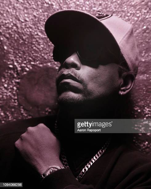 Circa 1989: Rap music pioneer Ice-T poses for a portrait in 1989 in Los Angeles, California.