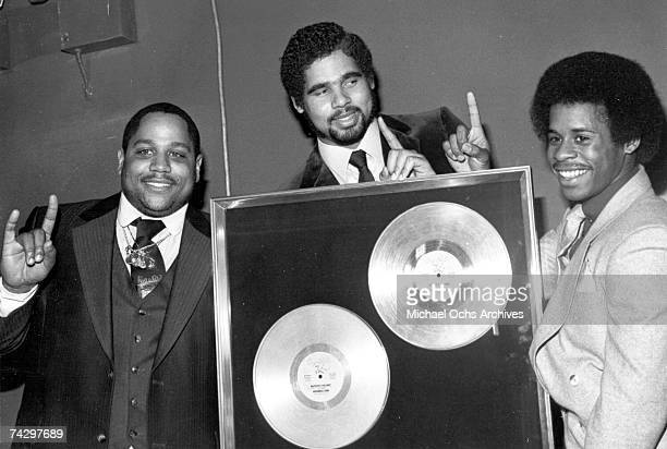 Rap pioneers the Sugar Hill Gang circa 1980