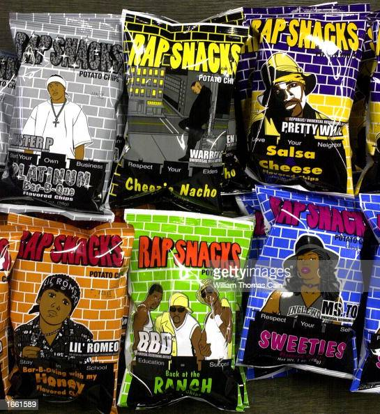 rap snacks potato chips are seen at a wholesale distibutor