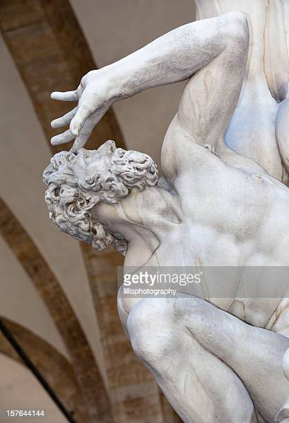 L'Enlèvement des Sabines à Florence Italie