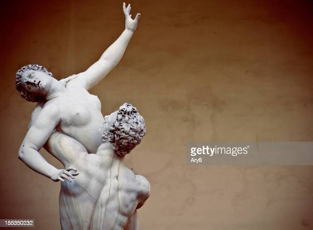 Rape of the Sabine Women statue in Florence
