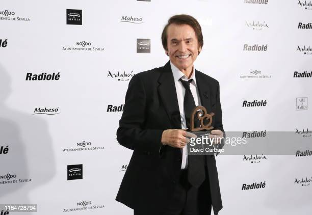Raphael attends the Radioole Awards ceremony on October 31 2019 in Seville Spain