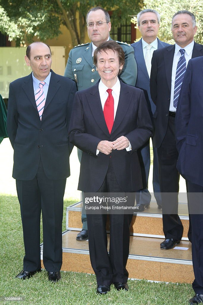 Raphael attends the Seville Golden Medal Ceremony at Seville Province Day on May 23, 2010 in Seville, Spain.