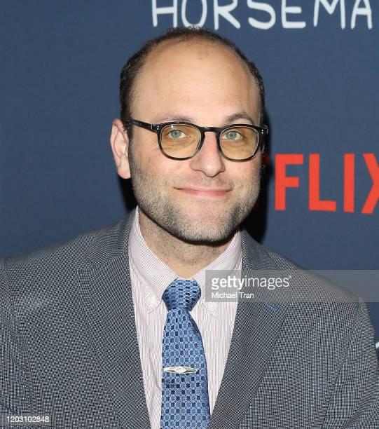 Raphael BobWaksberg attends the Los Angeles premiere of Netflix's Bojack Horseman Season 6 held at the Egyptian Theatre on January 30 2020 in...