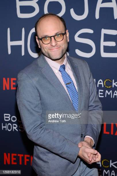 Raphael BobWaksberg attends the premiere of Netflix's Bojack Horseman Season 6 at the Egyptian Theatre on January 30 2020 in Hollywood California