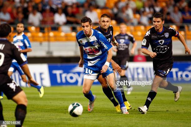 Raphael CACERES Troyes / Bastia 6eme journee de Ligue 2