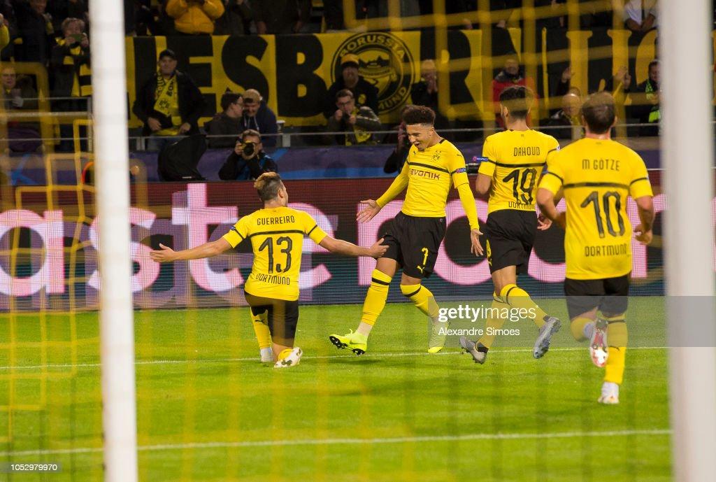 Borussia Dortmund v Club Atletico de Madrid - UEFA Champions League Group A : News Photo