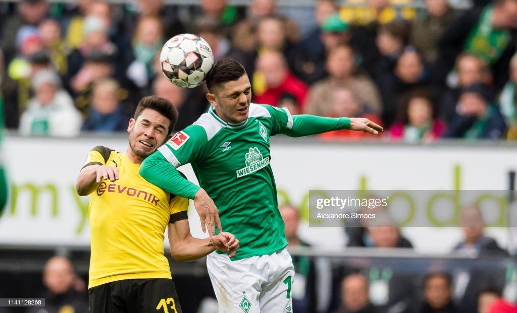 DEU: SV Werder Bremen v Borussia Dortmund - Bundesliga