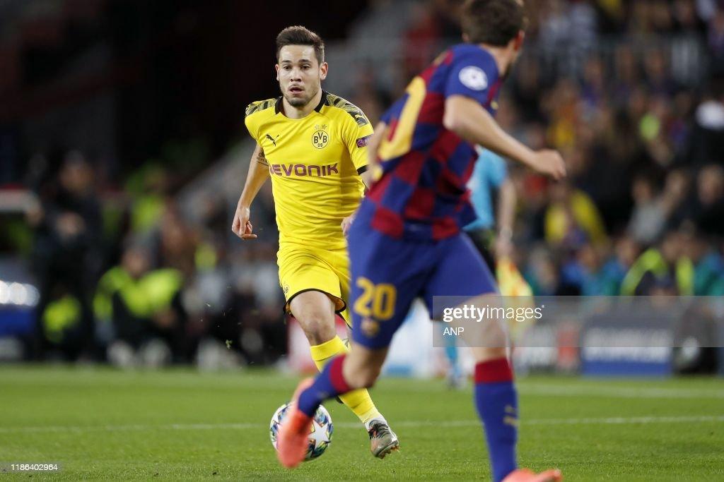 "UEFA Champions League""FC Barcelona v Borussia Dortmund"" : News Photo"