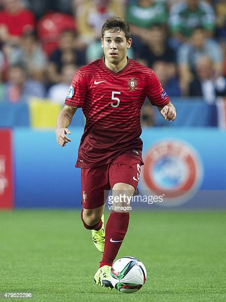 Raphael Guerreiro of Portugal during the UEFA European Under21 Championship final match between Sweden and Portugal on June 30 2015 at the Eden...