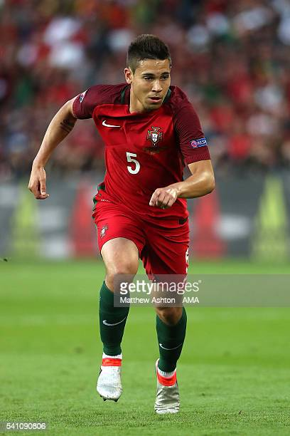 Raphael Guerreiro of Portugal in action during the UEFA EURO 2016 Group F match between Portugal and Austria at Parc des Princes on June 18, 2016 in...