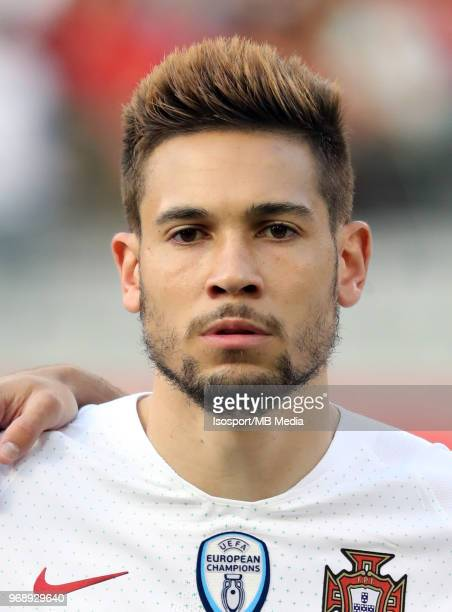 Raphael GUERREIRO pictured during a friendly game between Belgium and Portugal as part of preparations for the 2018 FIFA World Cup in Russia on June...