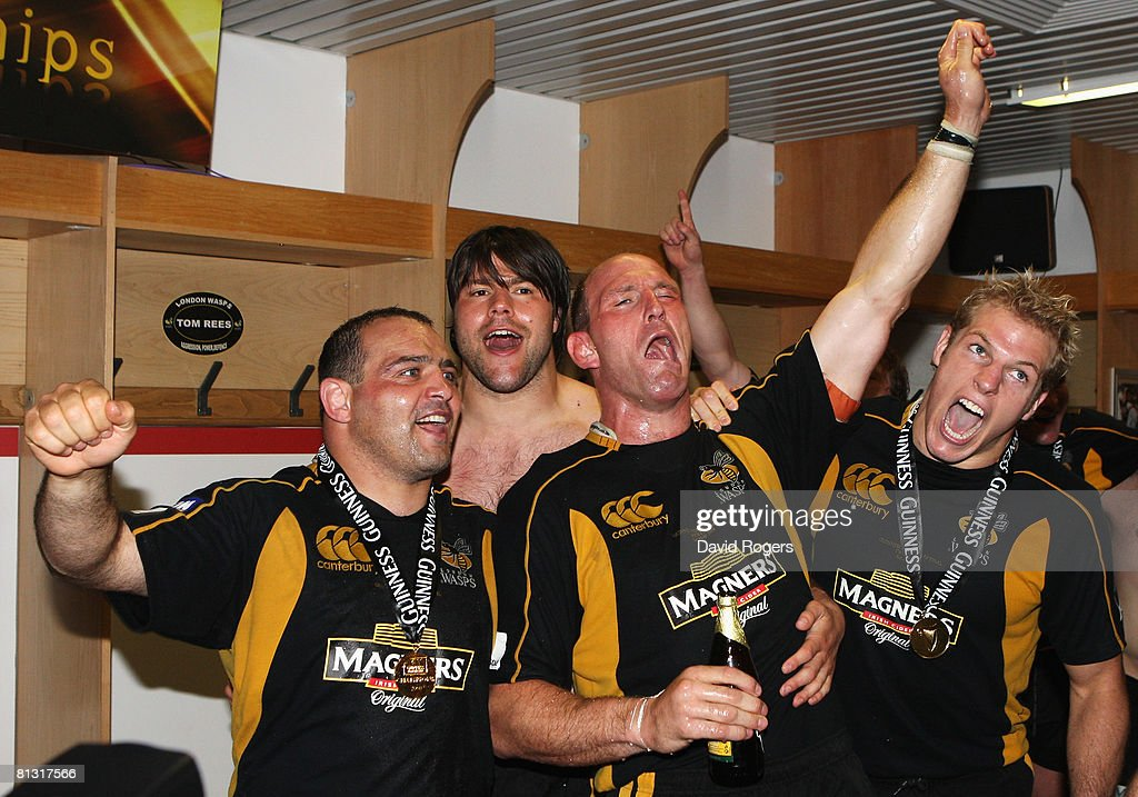 Leicester Tigers v London Wasps - Guinness Premiership Final : News Photo